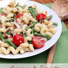 Market Monday: Asparagus and Prosciutto Pasta Salad