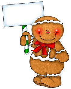 gingerbread man frame christmas frames borders pinterest rh pinterest com