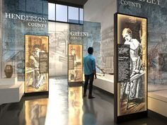 Inside view: the new Tennessee State Museum Museum Exhibition Design, Exhibition Display, Design Museum, Art Museum, Display Design, Booth Design, Signage Design, Environmental Graphic Design, Environmental Graphics