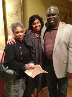 Reggies brother Michael and  wife Rhonda with Tia