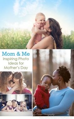 {Mom & Me} Inspiring Photo Ideas for Mother's Day. http://www.iheartfaces.com/2014/04/photography-ideas-for-mothers-day/