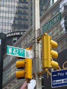 42nd & Broadway NYC