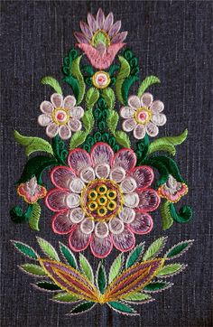 Wonderful Ribbon Embroidery Flowers by Hand Ideas. Enchanting Ribbon Embroidery Flowers by Hand Ideas. Crewel Embroidery Kits, Hungarian Embroidery, Brazilian Embroidery, Paper Embroidery, Learn Embroidery, Japanese Embroidery, Machine Embroidery Patterns, Silk Ribbon Embroidery, Embroidery Jewelry