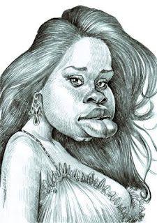 Caricature:Jennifer Hudson