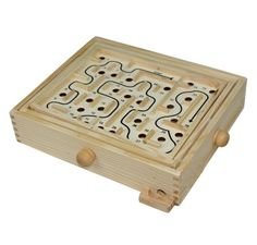 Wooden Labyrinth Puzzle,I used to play with one of these when I was a child.