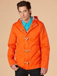 Stand out and stay dry in Penguin's Gertam Toggle Coat!
