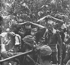 Prisoners of War being stripped of weapons and valuables by Japanese Soldiers during Bataan Death March.My grandfather was a survivor of the Bataan Death March. He lived to tell his story. Us Marines, Palawan, O Donnell, World History, World War Ii, Manila, Java, Bataan Death March, Leyte