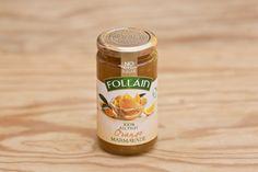 Orangenmarmelade ohne Zuckerzusatz, von Follain, Follain ist einer der bekanntesten und beliebtesten Produzenten und stellt seine Marmeladen aus 100% natürlichen Zutaten nach alten irischen Rezepten her, ohne Geschmacks- Farb- und Konservierungsstoffe. Die Marmeladen werden für maximale Frische in hochwertigen Gläsern vakuumverpackt. Die Firma ist im Zentrum des landwirtschaftlich geprägten West Cork ansässig, die Qualität ist die von hausgemachten Produkten.