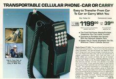 Transportable Cellular Phone