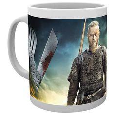"#Tazza in ceramica ""Viking"" di #Vikings con stampa."