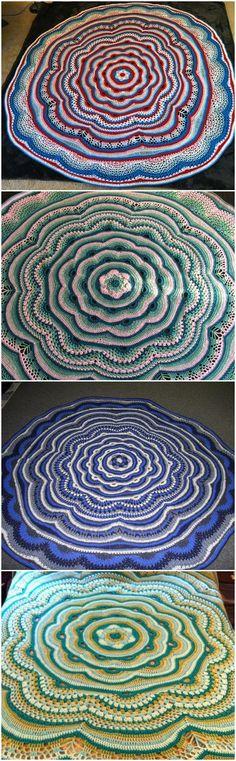 Crochet Tides of Change Mandala - 60+ Free Crochet Mandala Patterns - DIY & Crafts