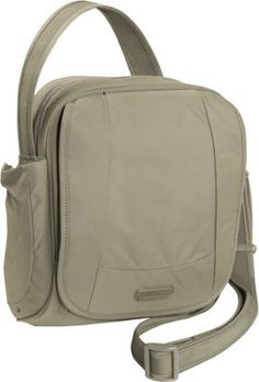 Pacsafe Metrosafe 200 GII Anti-Theft Shoulder Bag Jungle Green - via eBags.com!