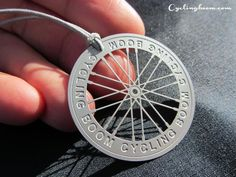 Necklace | Inspired By bicycle Wheel |  Cycling boom $5