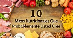 El Dr. Mercola enlista algunas de las mentiras de nutrición más destructivas comúnmente sugeridas por los nutriólogos convencionales. http://articulos.mercola.com/sitios/articulos/archivo/2014/07/23/10-mitos-de-nutricion.aspx