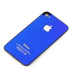 apple parts Canada  iPhone4s replacement back cover - mirror blue just  $8.99  http://bit.ly/1gUnU4J