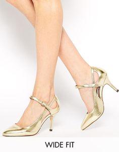 SAILOR - Chaussures pointues grande largeur à talon