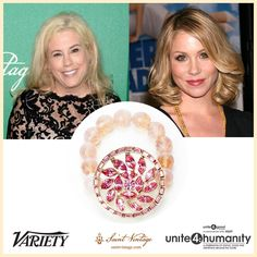 Tomorrow we will be presenting Christina Applegate with our @saintvintage Love Cures Award for her work with Right Action for Women, a #breastcancer organization she started after her own diagnosis. We can't wait! @unite4good