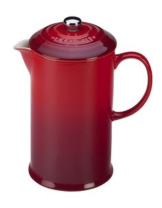 LE CREUSET ;French Press $100
