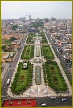 America City, Latin America, Central America, South America, Ecuador, British Overseas Territories, Urban Landscape, Aerial View, Dream Vacations
