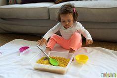 Brincadeira para fazer em casa com o seu filho pequeno - preparaçao