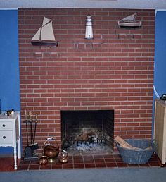 This post wasoriginallypublished in December 2009 and with fireplace season here I thoughtitwould be a great time to re-share with everyone. Decorating your fireplace mantel is one thing, but what if your brick fireplace is distressed, cracked or just an eye-sore? With economic times being tight, most don't have extra cash to hire a professional …