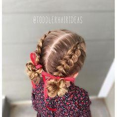 cool little girls dutch braid hairstyles - Google Search...