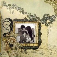 Gallery Projects - Scrapbooking - Wedding - Two Peas in a Bucket