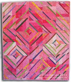 Fiber Antics by Veronica: Celebrating October with Pretty in Pink
