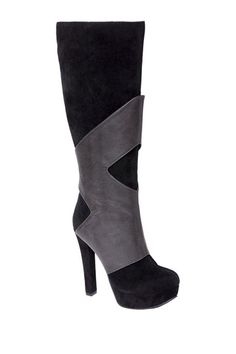 Michael Antonio Bowen Two-Tone Platform High Heel Boot by Non Specific on @HauteLook