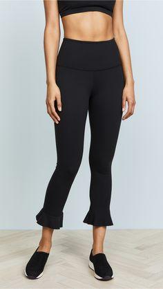 ca68f9e50e4f25 Beyond Yoga Frill Seeker Leggings Yoga Capris, Yoga Leggings, Yoga  Photography, Capri Leggings