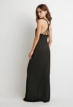Braided Strap Maxi Dress | Forever 21 - 2000053081