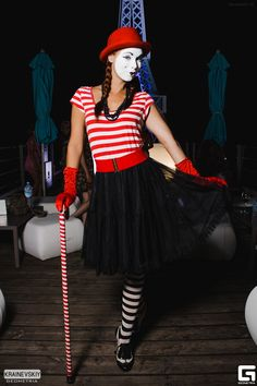Mime Makeup, Tights, Costumes, Female, Vintage, Style, Fashion, Clowns, Navy Tights