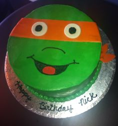 Birthday Cakes Mutant Ninja Turtle - Kreative Kupcakes Bakery
