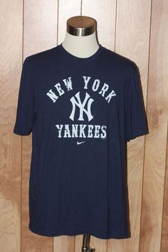 MEN'S NIKE NEW YORK YANKEES SHORT SLEEVE SHIRT-SIZE: 2XL* #GraphicTee