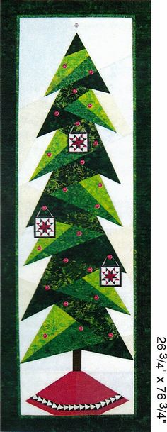 - Tall Trim The Tree Quilt Pattern - at The Virginia Quilter