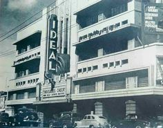 Ideal Theater, Rizal Avenue, Manila Philippine Architecture, Filipiniana, Back In Time, Pinoy, Filipino, Vintage Photos, Philippines, 19th Century, Theatres
