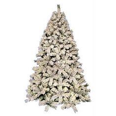 White Christmas Tree 6ft/7ft/8ft Size Snowy Mountain Pine Shape 180-210-240cm   eBay