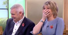 The Blind Date host was upstaged by his dogs Thelma and Louise Ruth Langsford, Tv 2017, Blind Dates, Polo Ralph Lauren, Dating, Celebrity, Internet, Dogs, Mens Tops