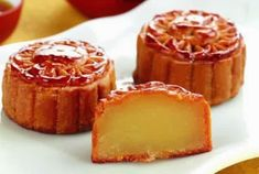 Banh Trung Thu recipe (Vietnamese Moon cake) - Vietnamese Recipes - Holidays - Chinese New Year - Vietnamese Dessert, Vietnamese Recipes, Food Cakes, Cupcake Cakes, Cupcakes, Cake Recipes, Dessert Recipes, Desserts, Recipes