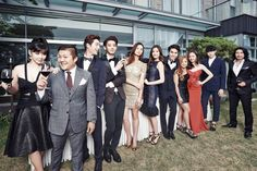 BOM and the cast of SBS Roommate gets fancy in new promo photos!