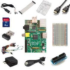 Raspberry Pi Ultimate Starter Kit -- Includes Raspberry Pi Board + 11 Essential Accessories: