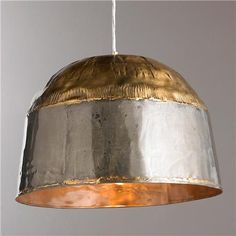 Island Check out Brass and Steel Soldered Pendant - Large from Shades of Light x Industrial Style Kitchen, Rustic Industrial, Pendant Lighting Bedroom, Soldered Pendants, Kitchen Pendants, Stained Glass Projects, Hanging Pendants, Lantern Pendant, Lighting Solutions