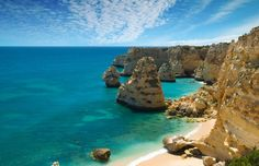 5 Lesser-Known Destinations to Visit in Portugal - via Shermans Travel 31.07.2013 | Rich with history, it seems Portugal itself should be a UNESCO World Heritage Site – we've lost count of how many of its cities and towns have been given the esteemed title. While Lisbon, Porto, and Sintra are all worthy of their own itineraries, if you're looking for something a little bit off the beaten path, here's where you should go to get a unique look at the rest of Portugal... Photo: Algarve