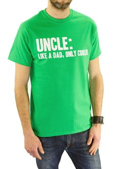 Hey, I found this really awesome Etsy listing at https://www.etsy.com/au/listing/184641723/definition-of-an-uncle-t-shirt-uncle