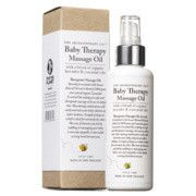 Aromatherapy Co's baby therapy massage oil.