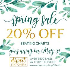 https://www.etsy.com/shop/DIVart - wedding invitations, custom maps, wedding programs, menu, seating charts, place cards, I design - You print 20% off for seating charts only through May 31