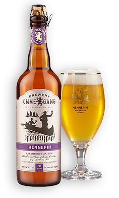 Ommegang Hennepin is a 7.7 ABV Saison / Farmhouse Ale.    The appearance is golden and bubbly with a moderate head and nice lacing.  The nose is spicy sweet and yeasty.  Like all Ommegang brews, the palate is complex but very drinkable.  The body is light but well carbonated, fruity and sweet, and finishes crisp and dry.  Ommegang always delivers.