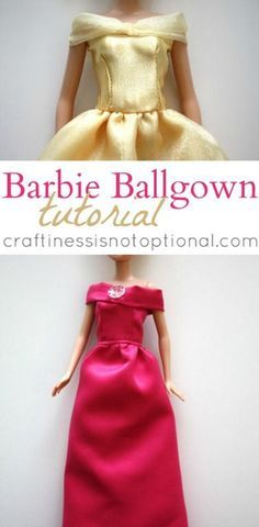 Barbie Ballgown Tutorial by Craftiness Is Not Optional