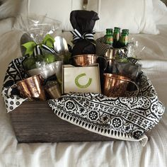 Renowned Souvenir Basket for any Occasion. gift baskets for men Creative Gift Baskets, Gift Baskets For Men, Themed Gift Baskets, Raffle Baskets, Basket Gift, Man Basket, Liquor Gift Baskets, Beer Basket, Food Gift Baskets