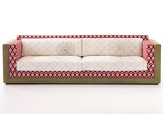 Sushi Karmakoma sofa by Edward Van Vliet. Moroso